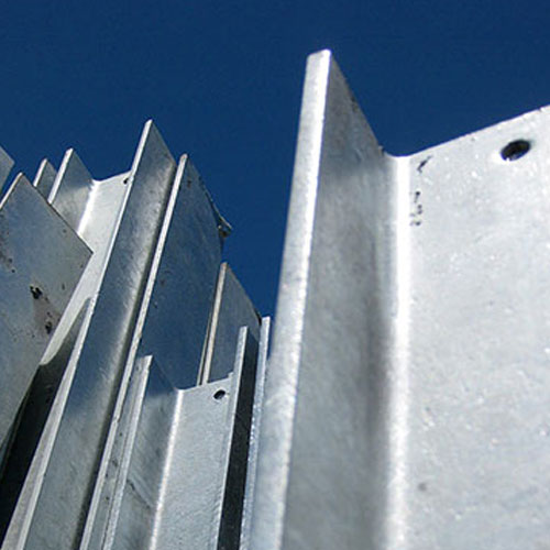 retaining wall steel