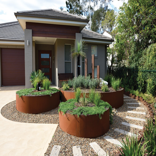Formboss Steel Garden Edging System Melbourne